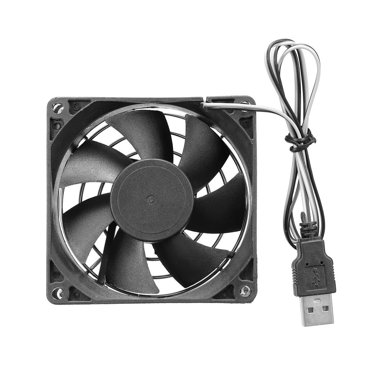 Ventilateur de refroidissement USB 8cm Heatful pour PC Computer TV Box pour Xbox pour la PlayStation Electronics