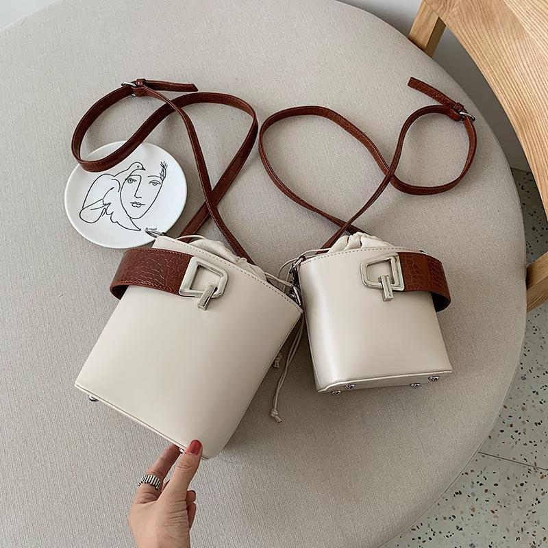 Messenger And Bucket For Bags Drawstring Handbags Female Crossbody Purses Lady Bag New Women Bags Chic Shoulder 2020 Travel Hnnst Xbgkd