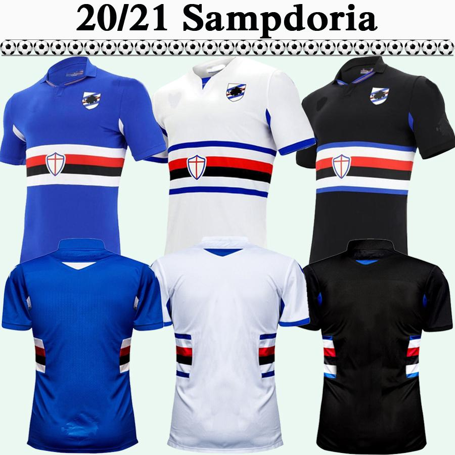 Acquista 2020 2021 Sampdoria Jankto Keita Balde Mens Soccer Jerseys New Gabbiadini Quaglialia Casa Away 3rd Camicia Da Calcio Manica Corta A 10,76 € ...