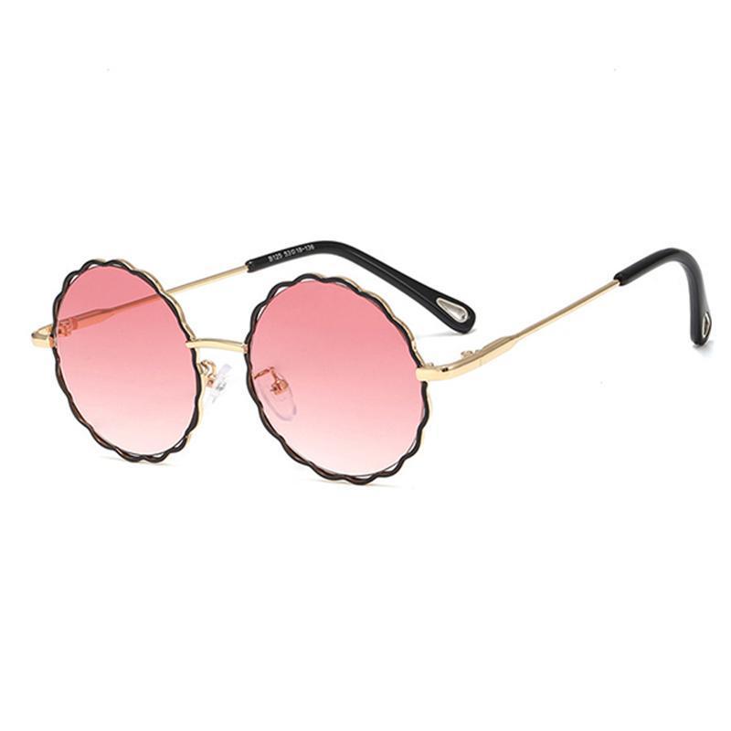 Открытый мальчики девочек детей солнцезащитные очки очки градиентные мальчики девушки милая рамка UV400 солнца красочные очки солнцезащитные очки детские зеркало ушаг