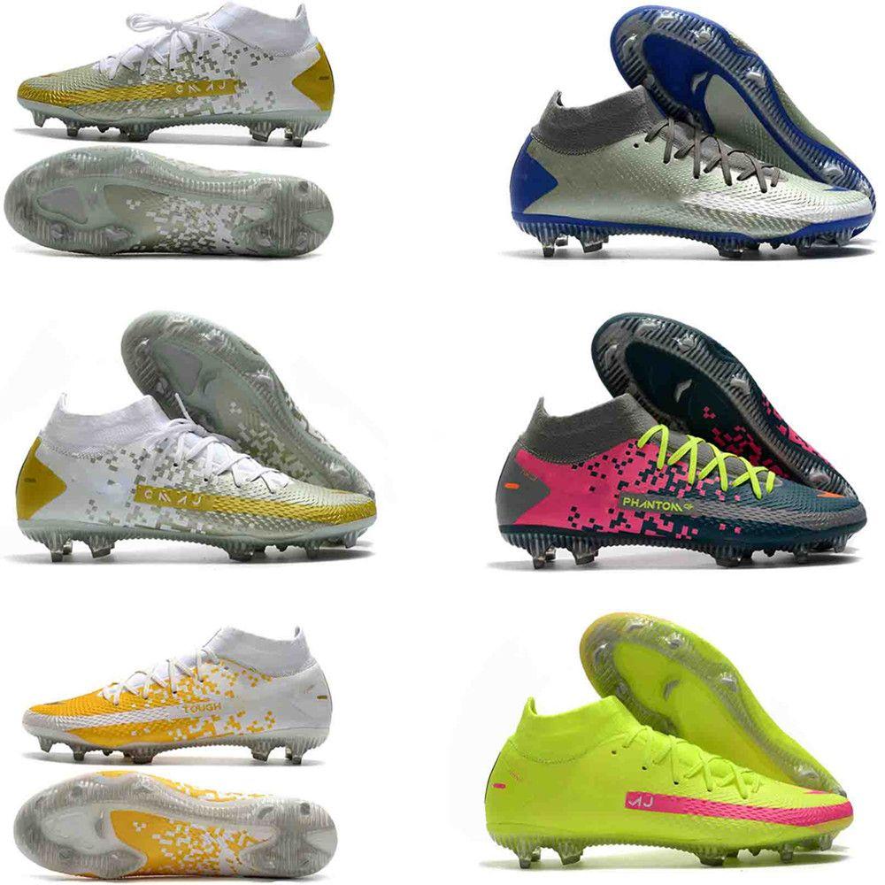 جديد 2020 حار رجل فانتوم gt النخبة الديناميكية صالح لايت fg بنين كرة القدم أحذية كرة القدم الأحذية المرابط حجم 39-45