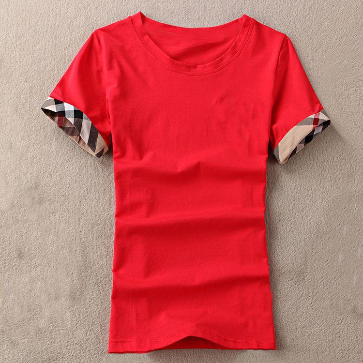 T - shirts Mulheres verão camisetas Mulher tshirts algodão o pescoço senhoras tops femme
