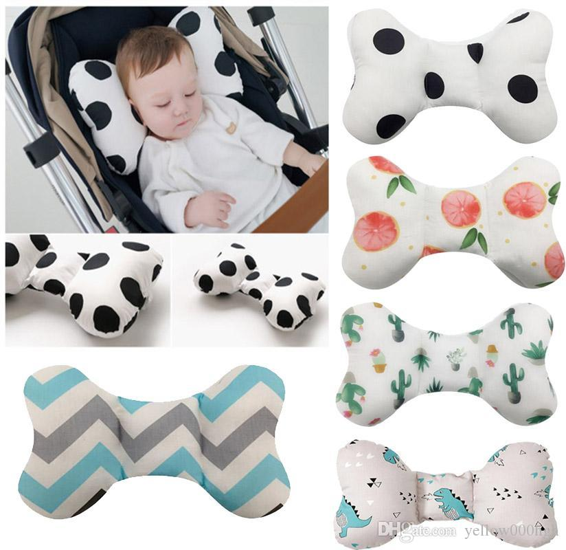 Head protection pad pillow newborn baby child pillow many animal printed cotton children's pillow