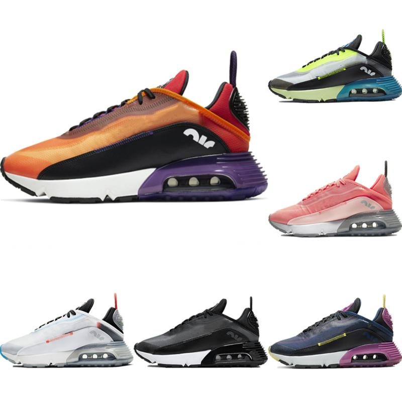 2020 With Box Iced Silk 2090 Breathable Jogging Sneaker Original 2090 Buffer Rubber Built-in Zoom Air Cushioning Running Shoes