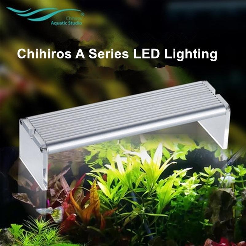 Chihiros A Series Bitki LED Işık AQUASKY Stil Arcylic Uzaktan Kumanda 7-Lev için 20 ~ 60 cm Tank Akvaryum Komutanı Akıllı Y200922