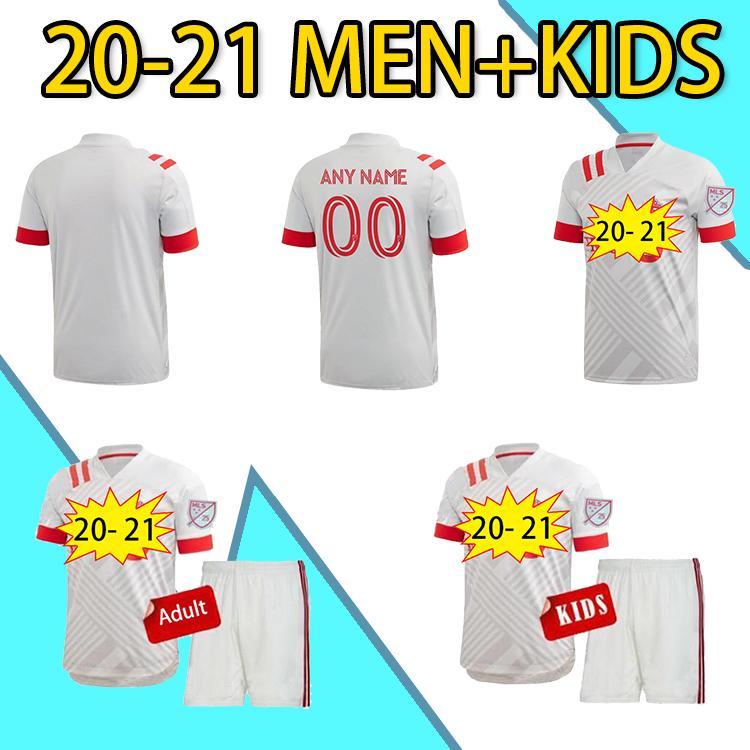 20 21 Toronto FC Mens Futebol Jerseys New Bradley Pozuelo Altidore Camisa de Futebol Morrow Piatti Marshall-Rutty Osorio Uniformes Curtos