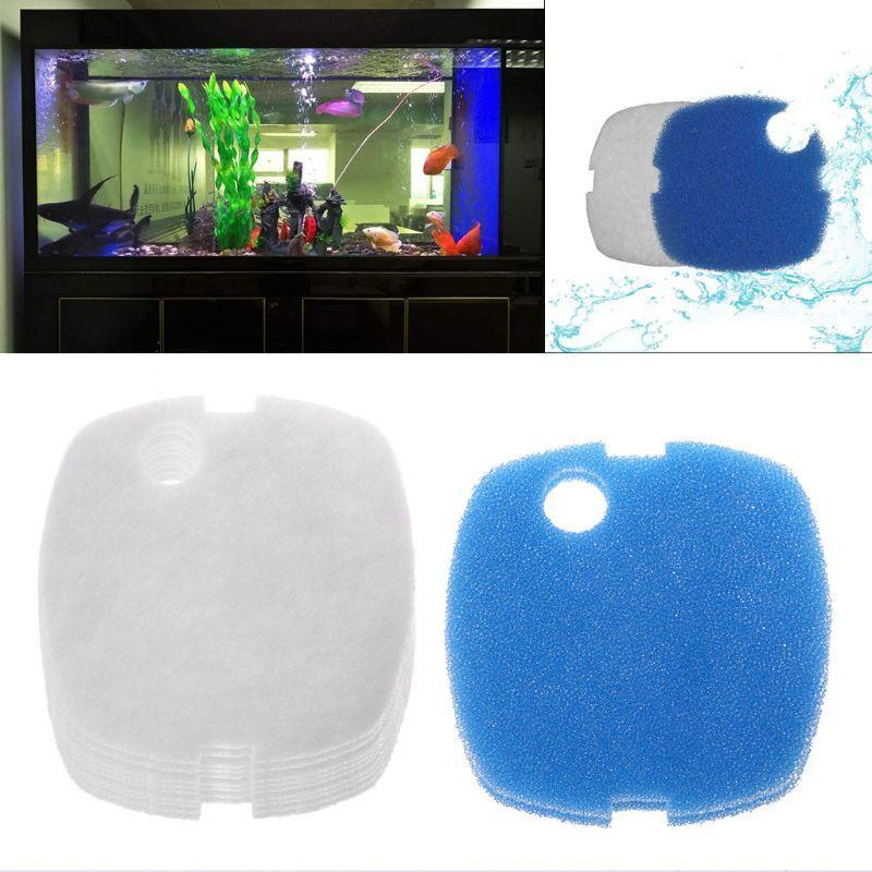 10 шт. Aquarium Filter Pads для Sunsun HW-302 / 505A Canister Filter Cass Y200917