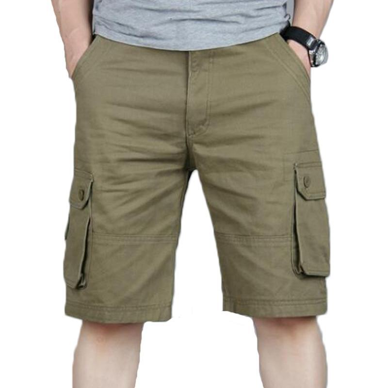 Летние повседневные карманные шорты грузов хип-хоп мужские бегуны общие военные короткие брюки плюс размер 46 спортивные штаны Y200403