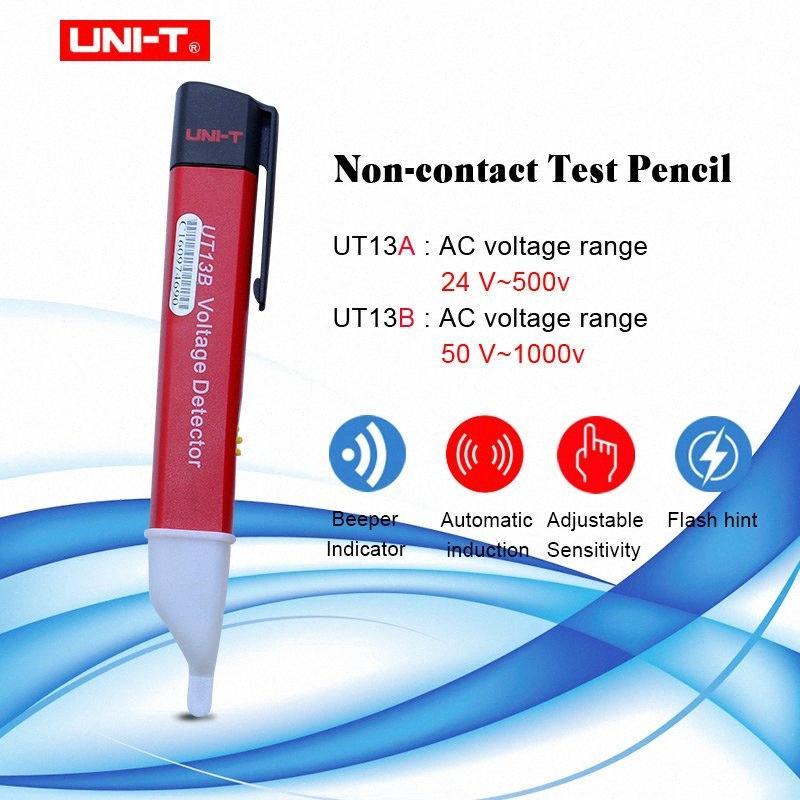 UNI-T UT13A/B handheld AC Voltage Detectors 24V ~ 1000 V 50/60Hz Volt Tester Pen Adjustable Sensitivity (High Sensitive) pS69#
