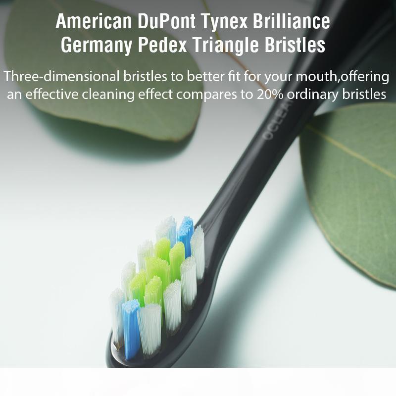 Oclean Air 2 Nouvelle brosse à dents électrique Sonic Electric IPX7 Écran tactile imperméable à l'eau Chargement rapide 3 modes de brossage Brosse à dents pour adulte 201114