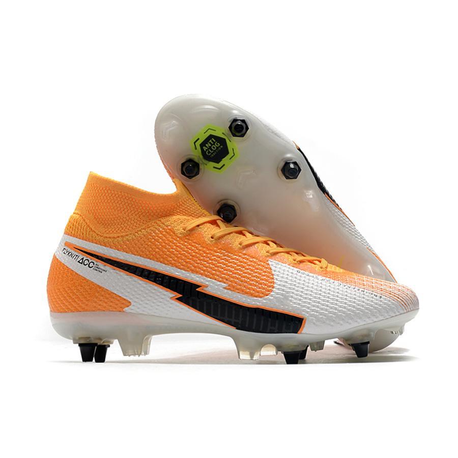 رجل FG برو لكرة القدم المرابط مرحبا الاطفال كوريا Mbappe روزا أحذية نسائية ال superfly سانشو النخبة في الهواء الطلق CR7 زئبقي أحذية كرة القدم