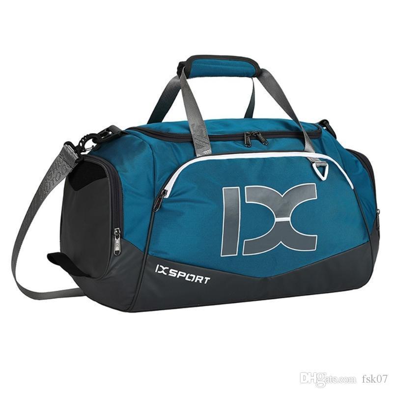 حقائب حقيبة 40L رياضة حقائب الجاف الرطب فصل ماء الكتف التدريب حقيبة يد واحدة الرياضة للياقة البدنية الأمتعة للنساء رجال