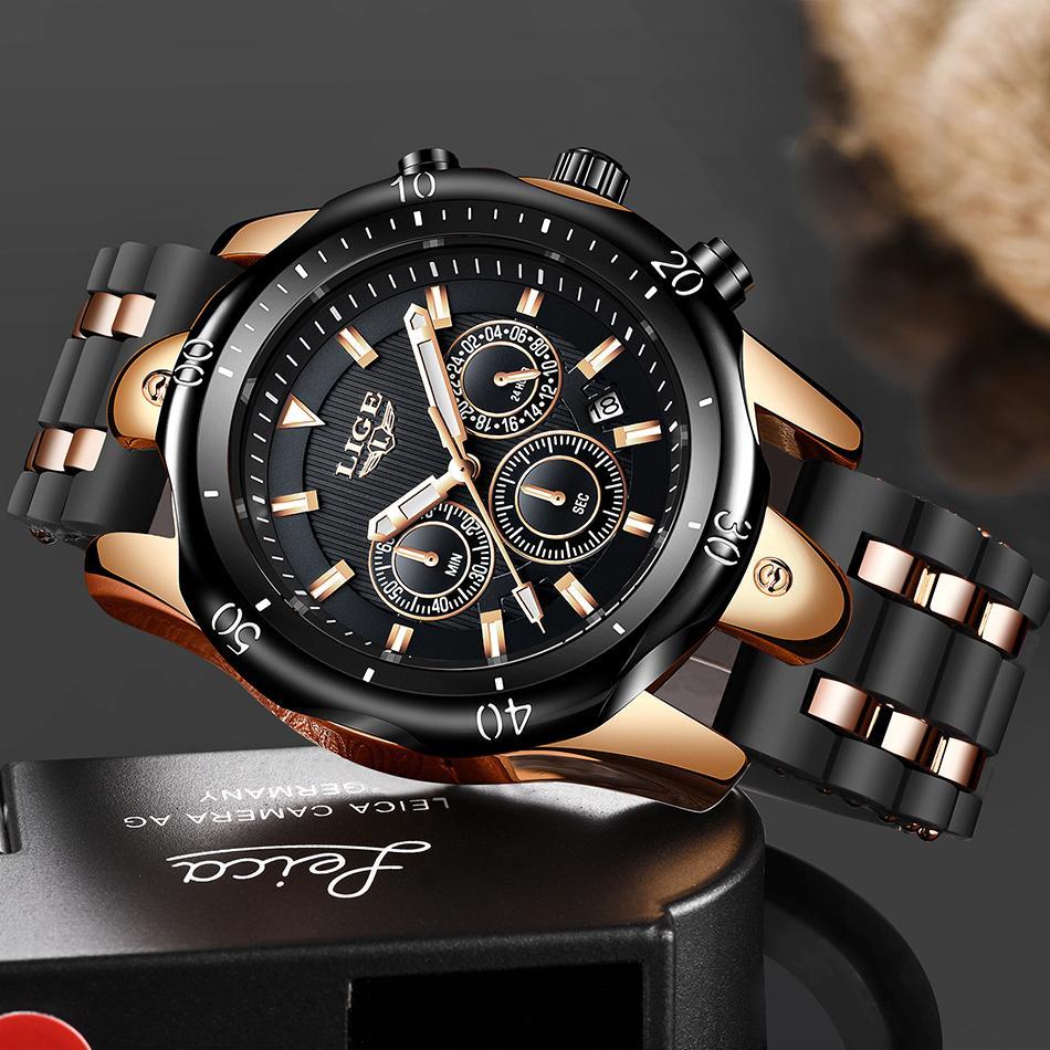 Relogio Masculino Neue Mode Uhr Männer Lige Top Marke Sportuhren Herren Wasserdichte Quarz Uhr Mann Casual Military Armbanduhr