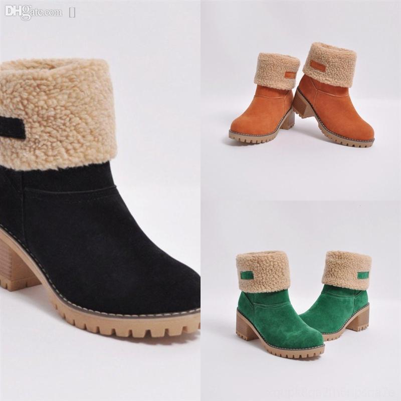 CyTU2 Yeni Kadın Yıldız Yüksek topuklu Trail Ayak Bileği Bo-Topuklu Ayakkabı Tasarımcısı, Buzağı Ile Yüksek Kaliteli Deri Çizmeler Tuval