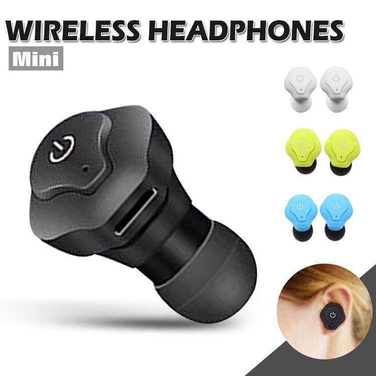Мини-близнецы Беспроводные Bluetooth наушники V4 0,2 стерео гарнитура Sweatproof Спорт В наушники-вкладыши наушники наушники с розничной коробки