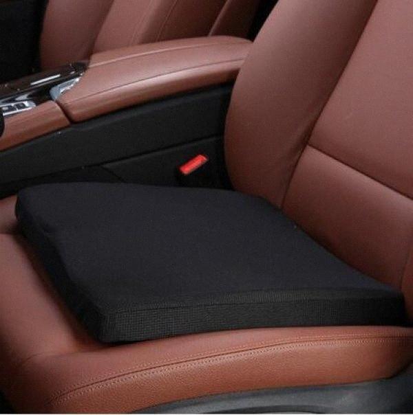 Автомобиль Подушка Memory Foam Автокресло Driving Test Driver Pad Кресло Подушка 40 * 40 * 4см CENU #