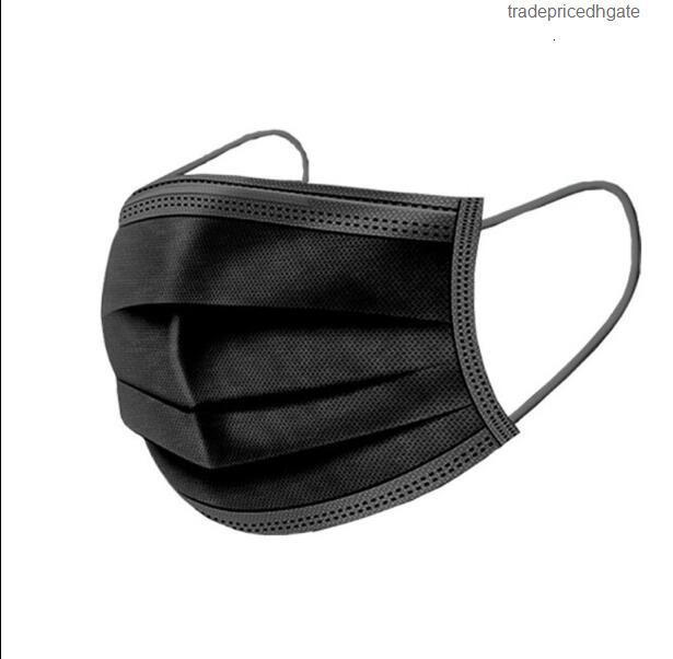 Hood 3 Earloop Layer Free Masks Shipping Breathable Mouth Face Comfortable Mask Black White Ship in 24 Hours G40z 3fzl 1scxw