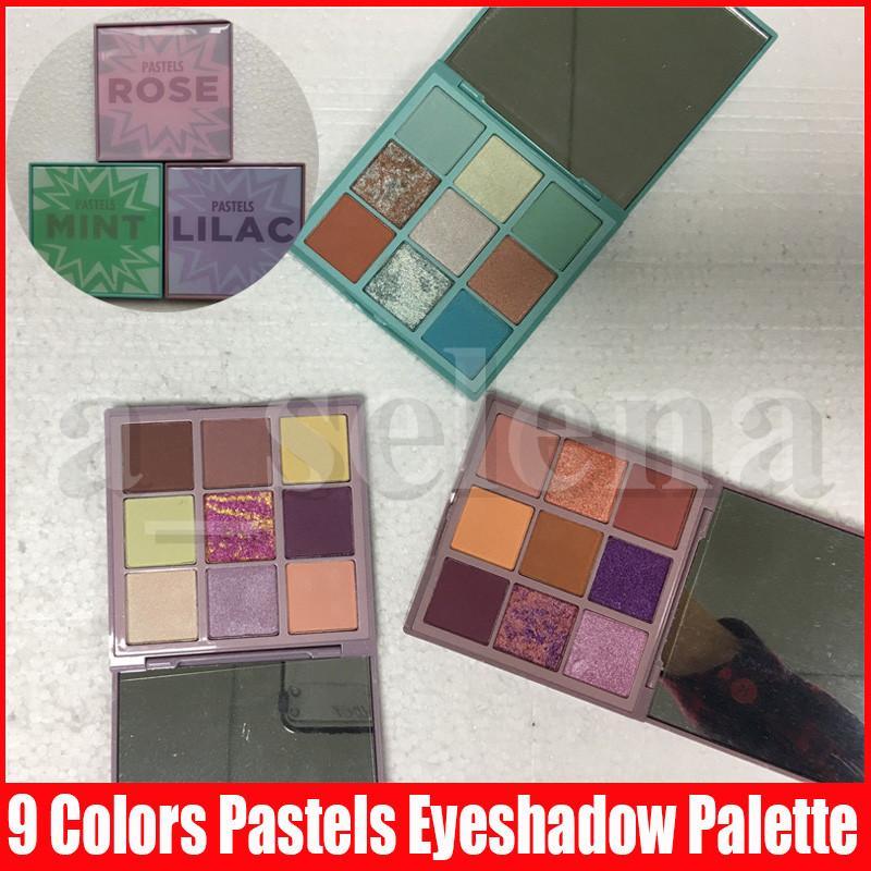 Trucco degli occhi PASTEL Ombretto Palette lucido gamma di colori dell'ombretto di luccichio opaco scintillio metallico pigmentato portatile Palette Cosmetic