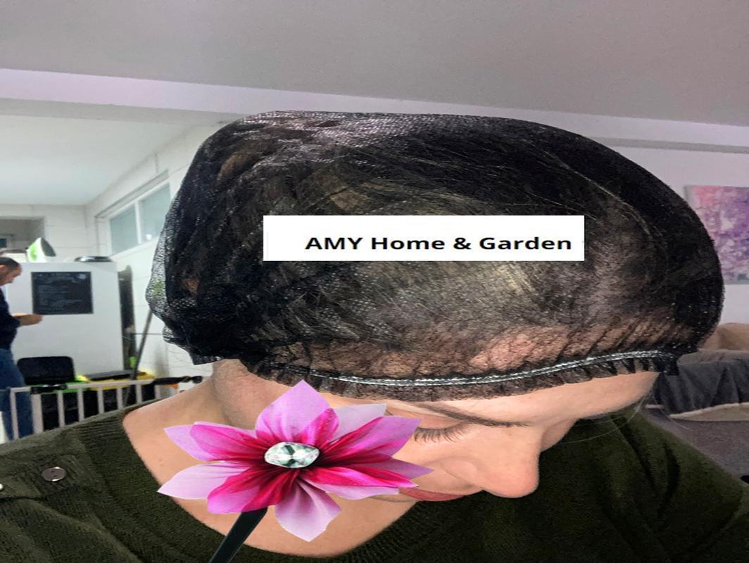 100pcs Double Ribbon Non Woven Disposable Shower Caps Pleated Dust Hat Women Men Bath For Spa Hair Salon Beauty Accessories H bbyUlm