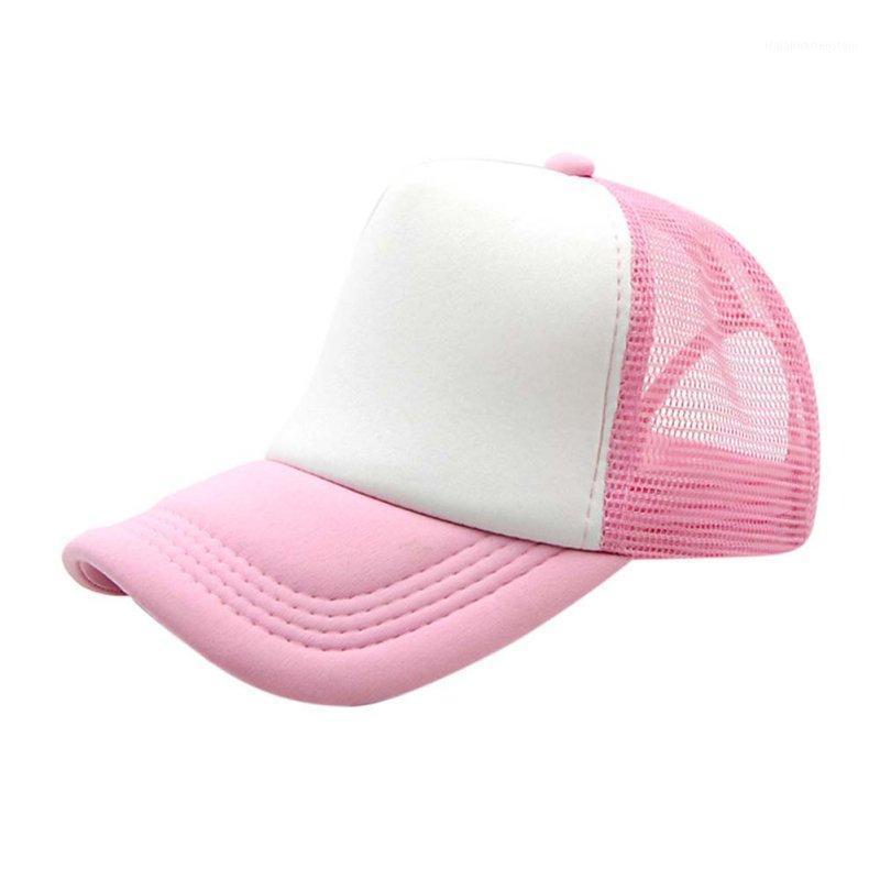 Niño ajustable Sombreros Casuales Malla gorra Sombreros Sun Summer Lassic Trucker Niños Baseball1