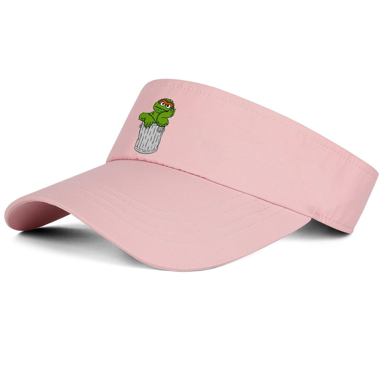 1Oscar os esportes chapéu Grouch Eu amo lixo homem negro chapéu de tênis de beisebol projeto ajuste personalizado caber cap melhor cap de tênis equipe clássico