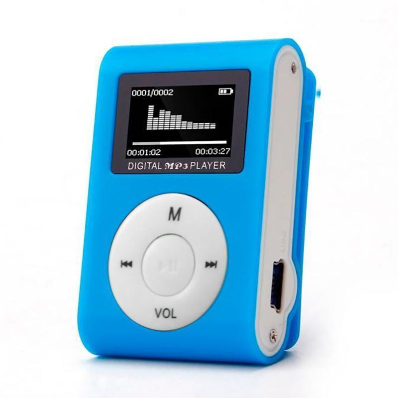 Mp3 Player USB Mini Clip Music Player LCD Screen Support 32GB Micro SD TF Card Radio Walkman Pocket Audio Song Subtitles J801