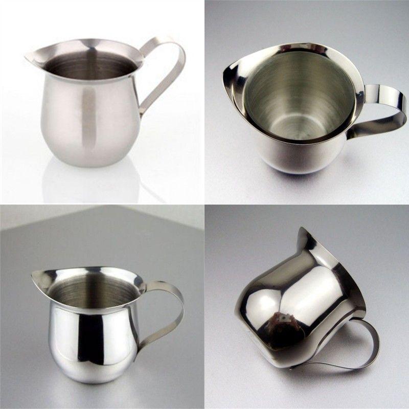 Edelstahlzug Flower Cup Scharfe Zunge Milkshake Tassen mit Griff Kaffee Milch Becher Neue Ankunft 8 5JG L1