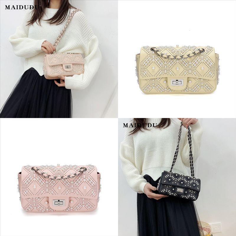 Miblj عالية الجودة مصممي أكياس محفظة امرأة الأزياء حقيبة الكتف الكريستال حقيبة crossbody حقائب الكتف فيليسي سلسلة حقيبة بطاقة