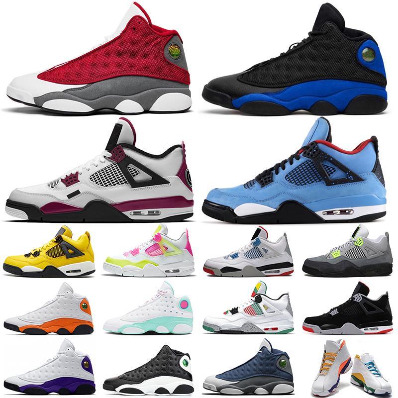 air jordan retro aj4 aj13 13 13s 4 4s Flint jumpman 13s hombres zapatillas de baloncesto 13 REVERSE HE GOT GAME Playground mujeres hombres entrenadores Zapatillas deportivas