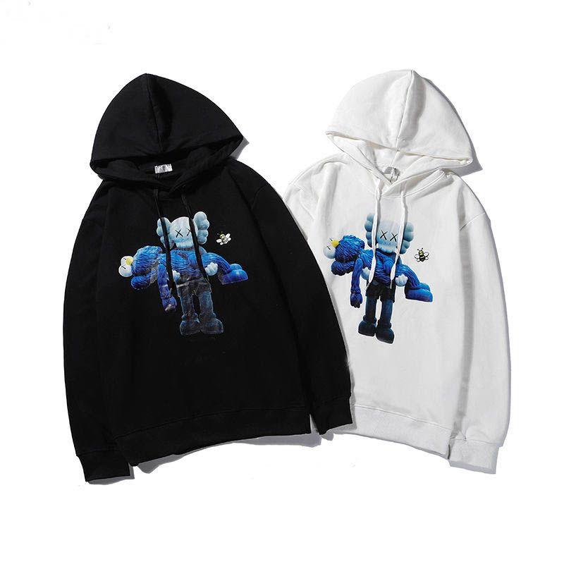 2020 üst Hoodie Kazak Tasarımcı Erkekler Kadınlar Pamuk Triko Hoodie Moda Uzun Kollu Kazak Kapüşonlular Streetwear Sweatershirt yazdır