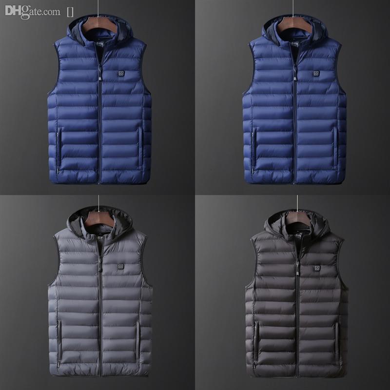 Жиджер бренда ZHC40 Жилет мужской куртка Мужская новая осень высокого качества теплый без рукавов куртка жилет зимний жилет вскользь мужской жилет плюс размер