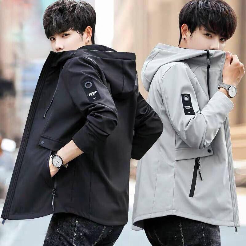 2020 nova primavera jaqueta masculina primavera e outono ferramental jaqueta moda slim grande tamanho estudante roupas w371
