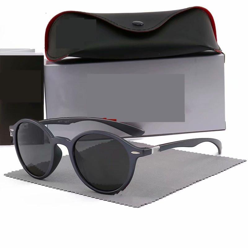 Рамка мода бренд объектив металлические очки вождение золота поляризованные солнцезащитные очки 4237 дизайн мужчин зеркальные очки солнцезащитные очки стеклянные женщины Dsnaf