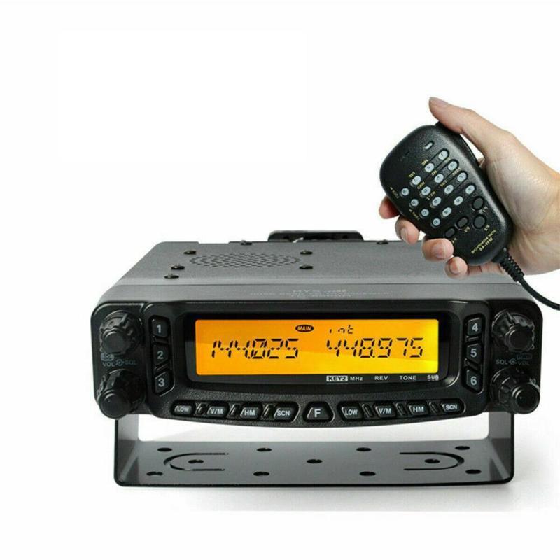HYS 50W Car Mobile Radio Transceiver Ham Quad Band CTCSS / DCS Встроенный DTMF Two Way Радио