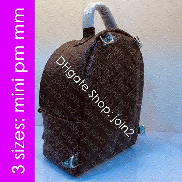 M44873 MINI PM MM-Rucksack-Rucksack Designer Damen Herren Luxus-Schule-Beutel-beiläufige Knapsack Reisen Duffel Radsports Computer-Laptop-Tasche