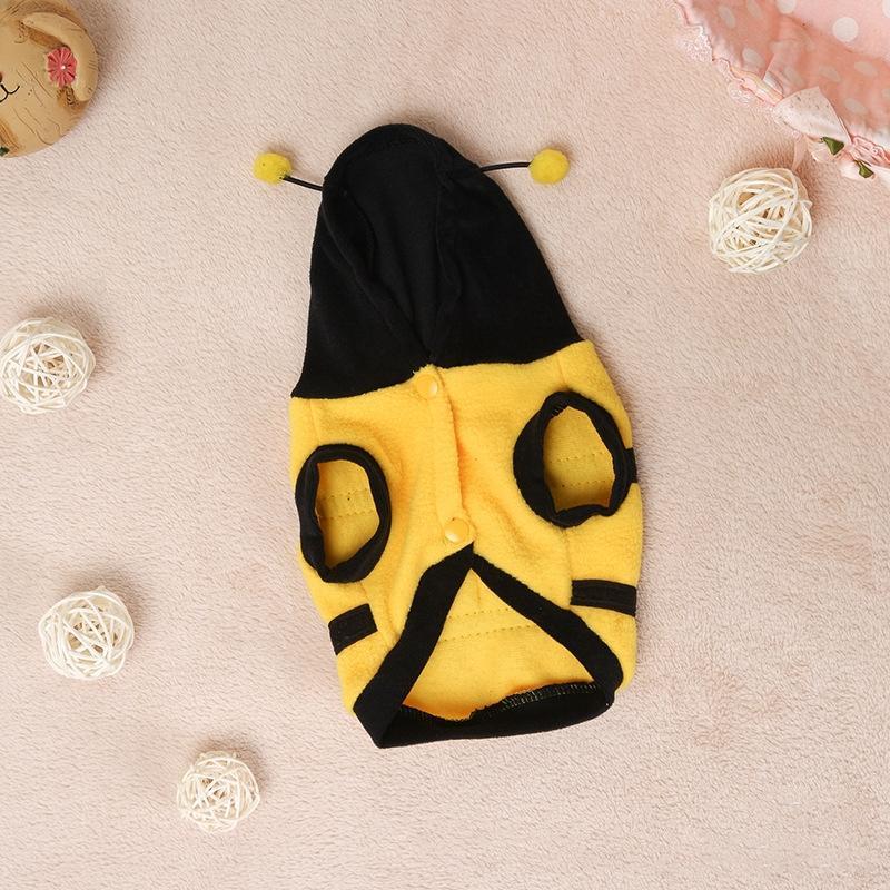 wzf6t qisheng домашняя одежда Qisheng животное животное животное одежда животных милая смешная пчела замаскированная собака одежда крылья кошка двуспальная одежда