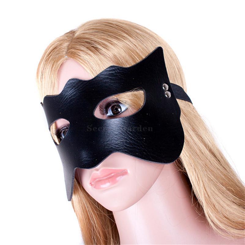 Боесть эротический глаз рабыный фетиш PU бондаря кожа повязку с завязанными глазами сексуальная маска косплей для взрослых игровой продукт для женщин секс игрушки BDSM S924 XKMOD