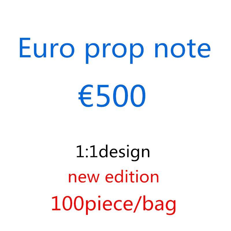Fabrik Großhandel Banknoten Euro Film Shooting Requisiten Magic Requisiten Kinderspielzeug Geschenke 1: 1 Design Kopieren Euro M10