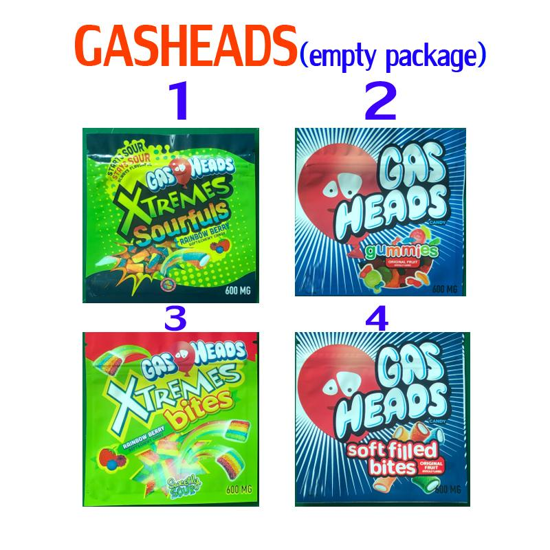 600 mg Embalaje vacío Embalaje Mylar Bolsos Infundidos Gashaads Airheads Xtremes Gummies Bites Soft Gummy Lol