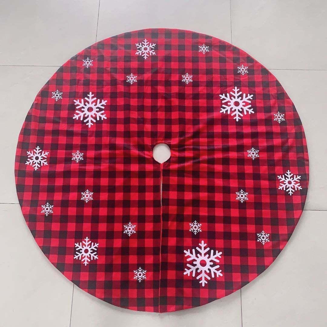 2020 Yeni Kar Şenlikli Dekorasyon Noel ağacı Etek I9IK