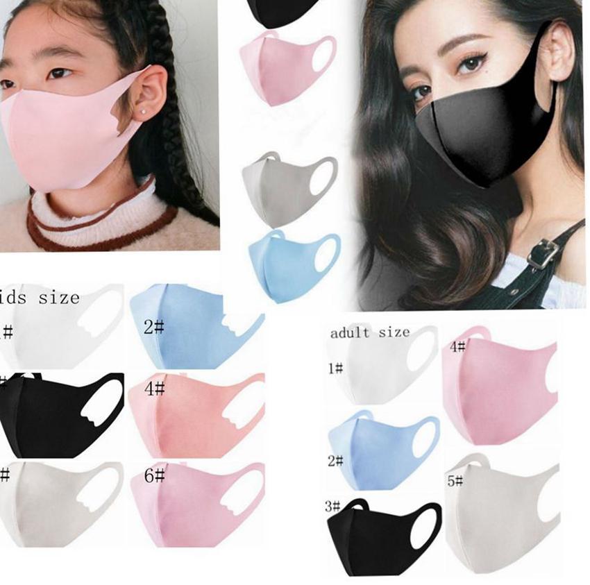 Пыленепроницаемый шелковый HDLII пыль защитный анти ртом хлопчатобумажная маска ледяное лицо ледяное моющиеся маски хлопчатобумажные маски многократные дети взрослые шелк ljjk2189 oosqc