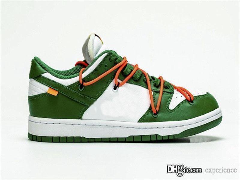 2020 Горячие кроссовки женщин людей Сиракузского университета белая кожа сосна зеленый бразилия скейтборд обувь Кроссовки размер 36-46