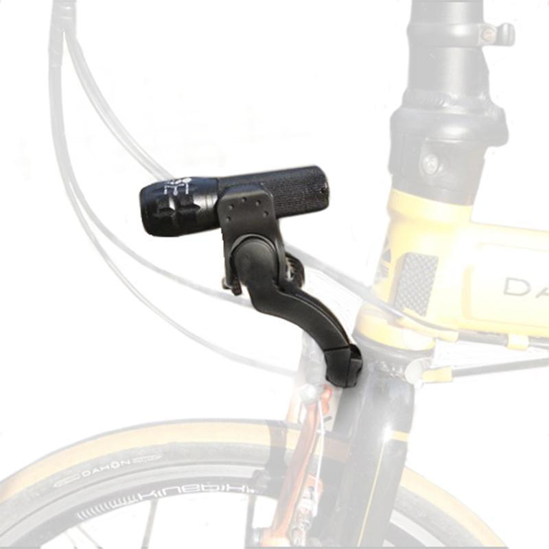 MTB Frente Mount Mount Bicycle Forquilha Archmount Extensão Base Bracket Extender para Dahon Bike Dobrável