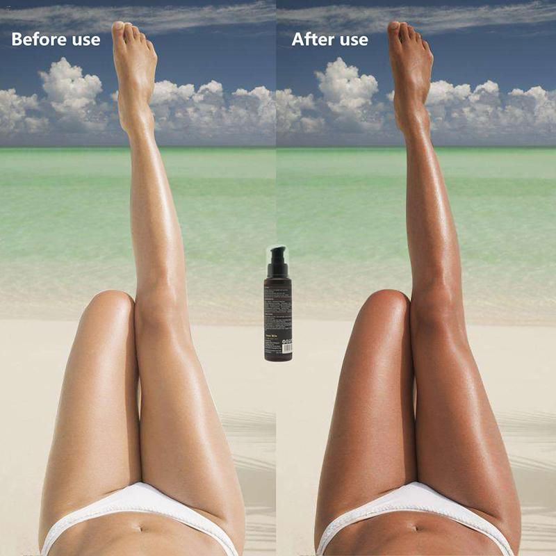 Long Lasting Sunless Tanning Self Tan Organic Natural Tan Mousse Long Lasting Fake TanRabin