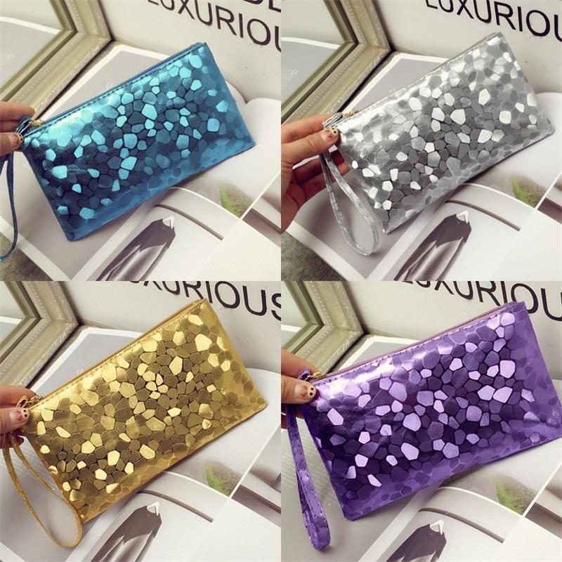 Bolsa de almacenamiento envoltura mini cuero 4js maquillaje portátil colores bolsos para mujer teléfono efectivo cosmético multi 2 pu l2 mhach