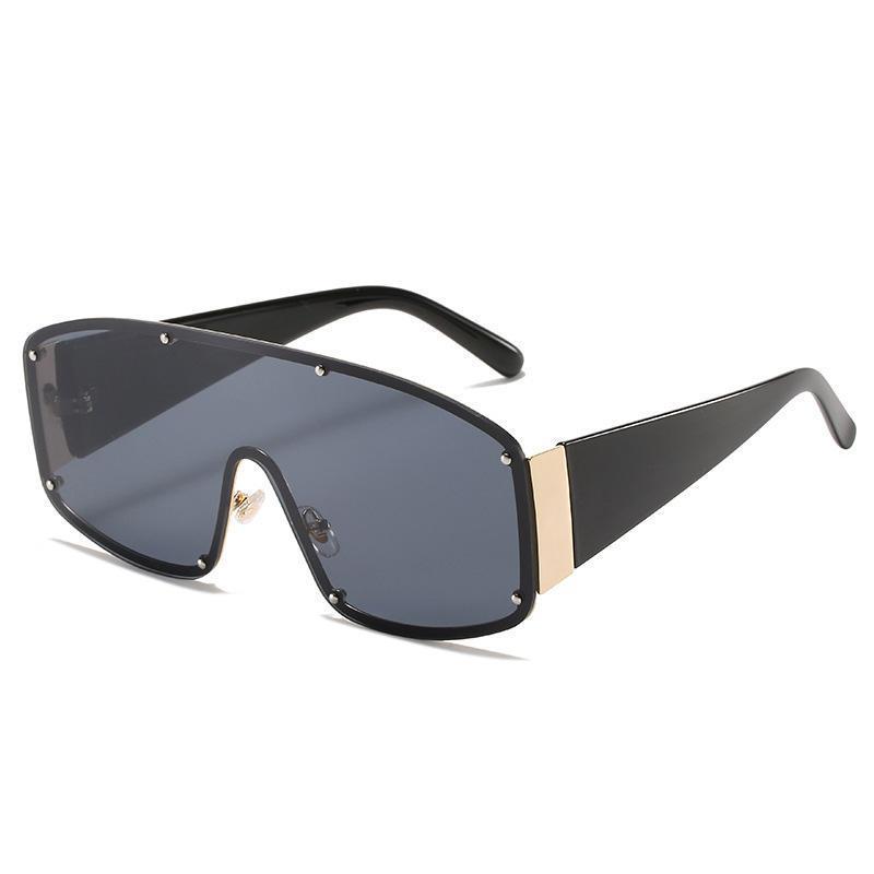 Güneş Gözlüğü 2021 Fahion Boy Çerçeve Kadınlar Tasarım Kişilik Tonları Gözlük Son Yaratıcı UV400