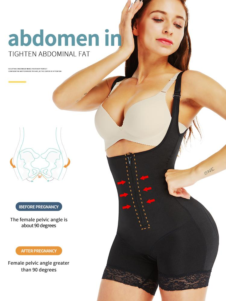 VIP link Aiconl Women Body Shaper Bodysuit Latex Shapewear Butt Lifter Tummy Control Waist Shaping Slimming Underwear