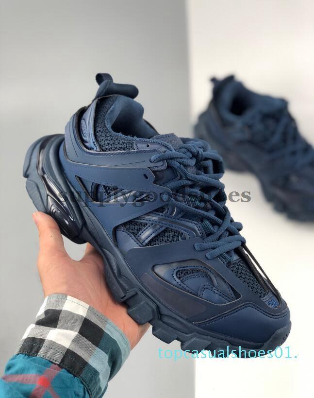En Kaliteli Parça Yayın 3.0 Pembe Nane Yeşil Tess S Paris Üçlü S Sneakers Rahat Ayakkabılar Kadın Erkek Trialler Eğitmenler 36-45 T01
