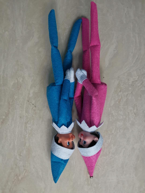 Plush 2020 Styles Elf Boneca 10 Brinquedos duendes Papai Dolls roupas na prateleira para o presente de Natal rápido Shippingin Stack008