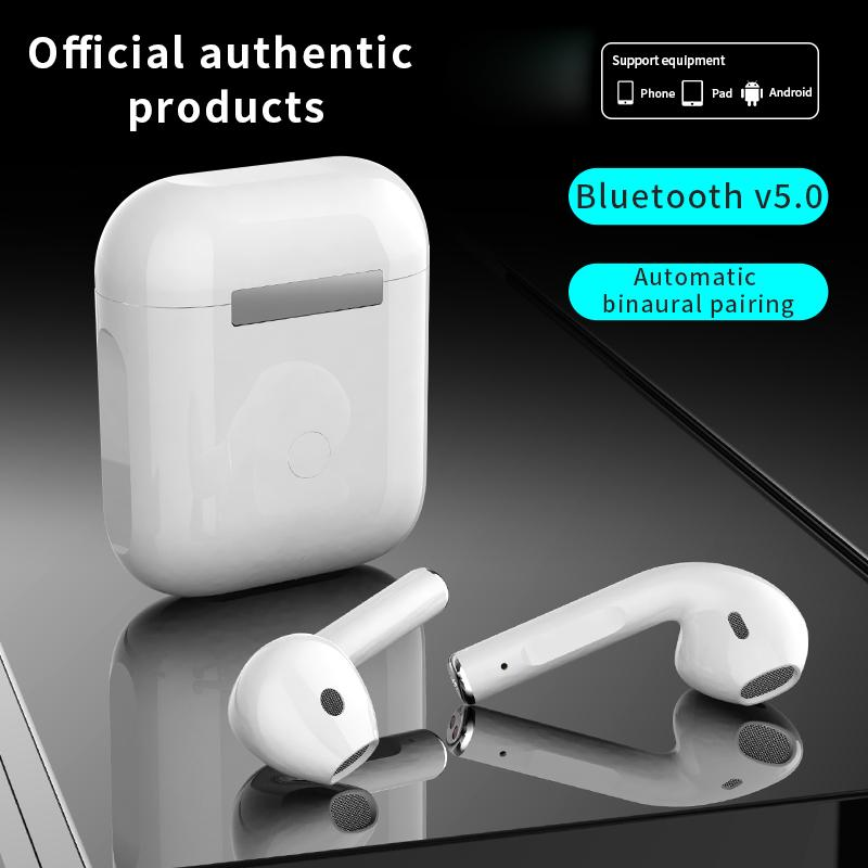 Auricolari wireless TWS Cuffie Auricolari BluTooth Mini in Ear Gaming Auricolare Auricolare Stereo Bass Earpodi Auricolari per Xiaomi Huawei Smart Phones
